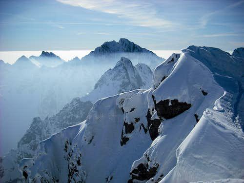 Gerlach seen from Rysy ridge