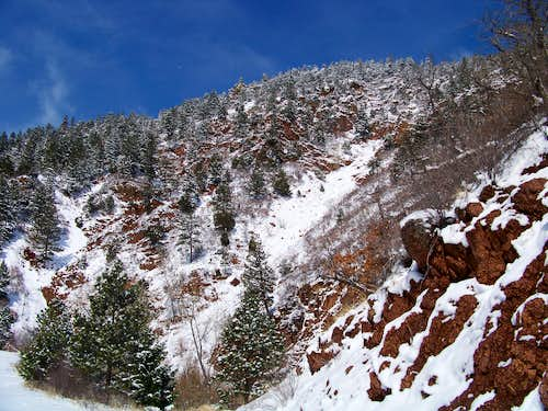Western Slope of Sundance Mountain