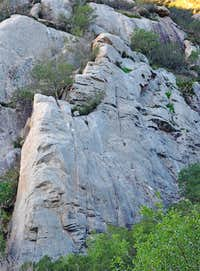 San Ysidro Rock-Right Side