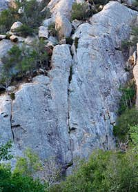 San Ysidro Rock-Left Side