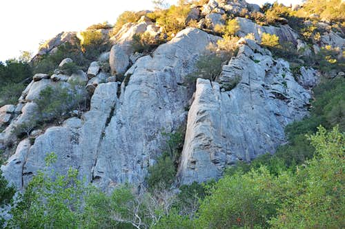 Lower San Ysidro Rock