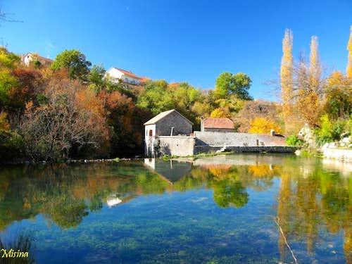 Autumn in Grab village-Kamesnica