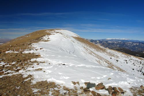 Gold Hill, True Summit