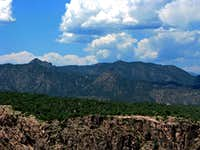 Royal Gorge, CO - Layers of  Color