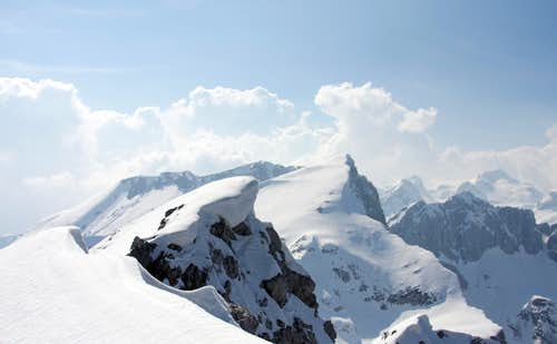 Summit panorama  from Mali Draski vrh.....