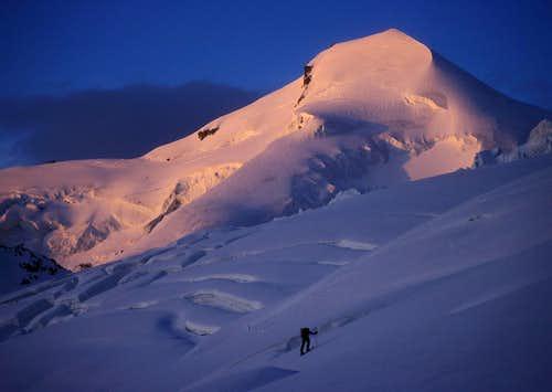 Allalinhorn seen at sunrise...
