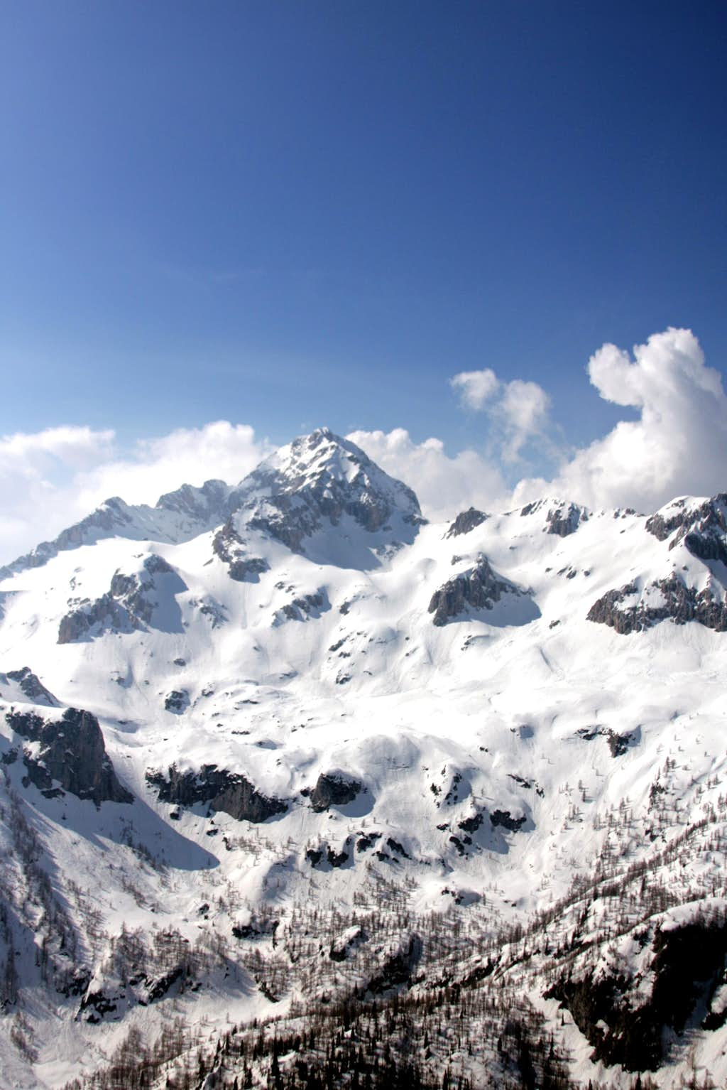 Triglav above Krma valley