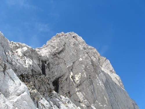 North face of Achar de Alano