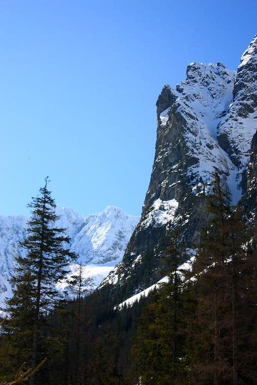 Mlynarik above the valley
