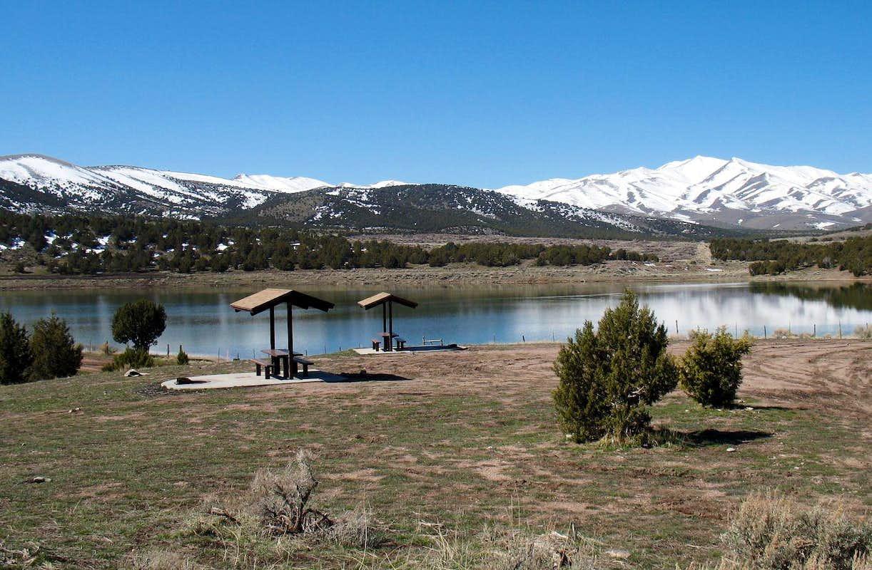 Vernon reservoir daviscamping for Fish lake utah camping