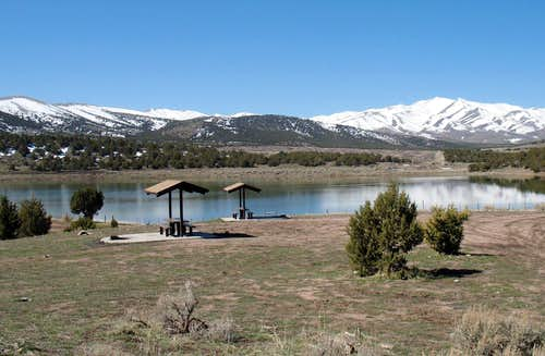 Vernon Reservoir campground