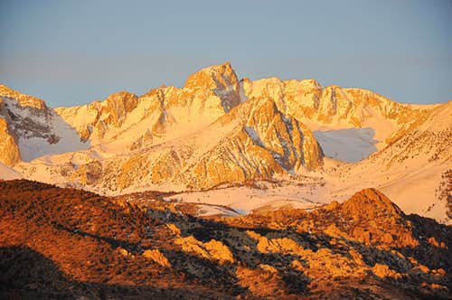 Mount Humphreys at dawn
