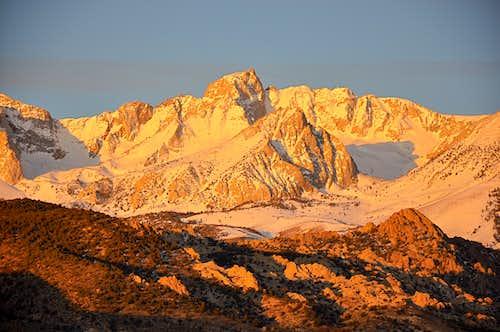 Mount Humphreys at dawn