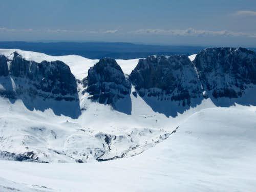 From the summit of Chinebral de Gamueta