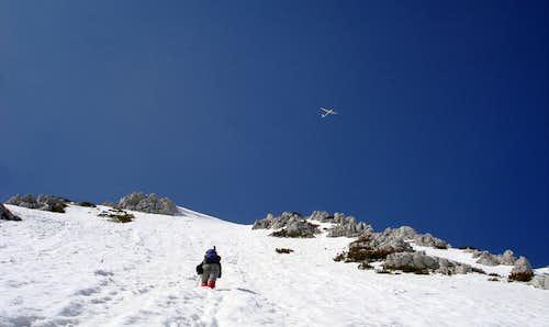 towards summit....under surveillance