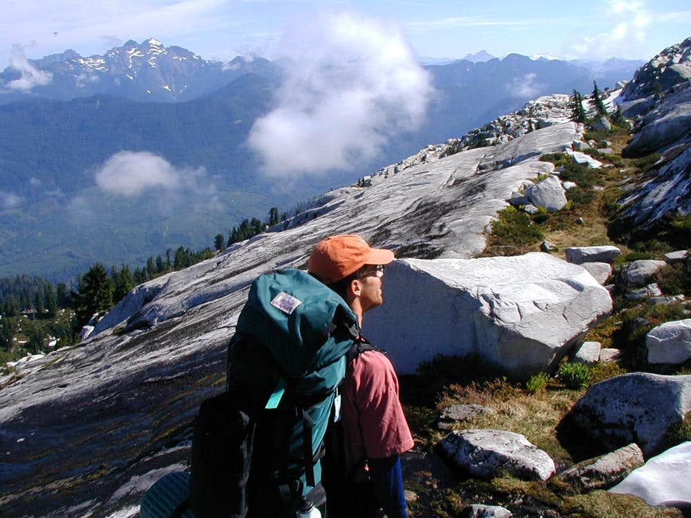 View NW on Pilchuck
