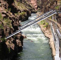 Royal Gorge - Taken at the canyon bottom
