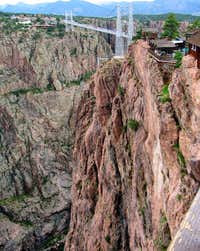 Royal Gorge - A good cross view of the gorge