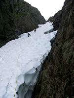 Mount Jumbo Summer Couloir