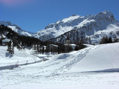 Engadin in winter
