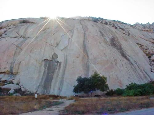 Big Rock at Lake Perris...