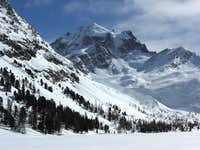 Engadin in winter - Piz Roseg