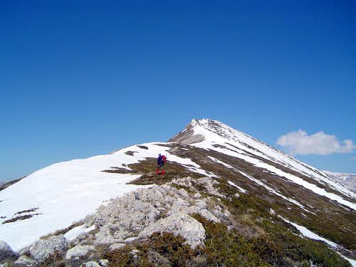 Ridge of Monte Porrara