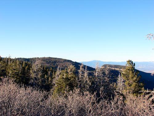 Capulin and Palomas Peaks