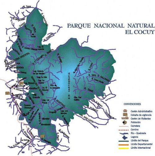 Mapa de la pagina de parques...