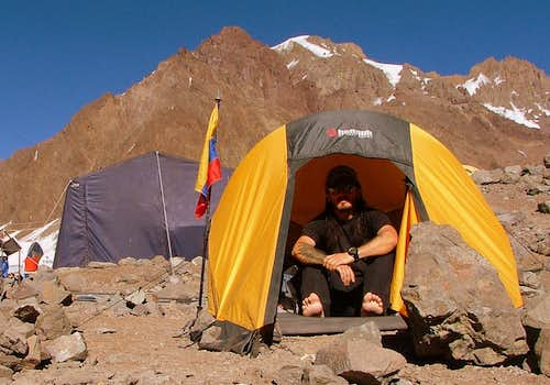 Aconcagua Base Camp.