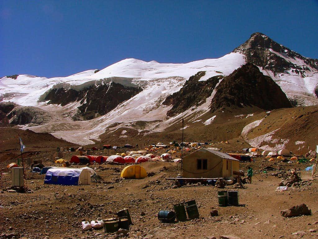 Plaza de Mulas Base Camp