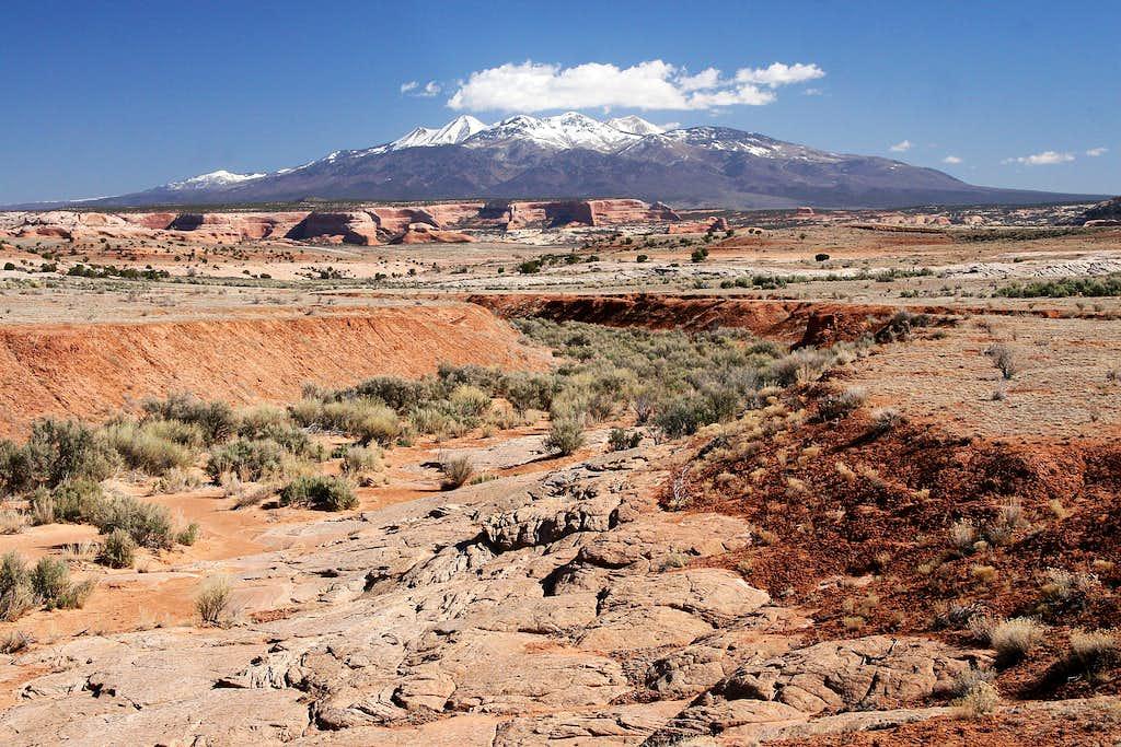 The La Sal Mountain Range