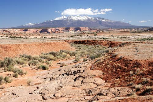 The La Sal Mountain Range
