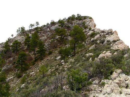 False summit of El Capitan....