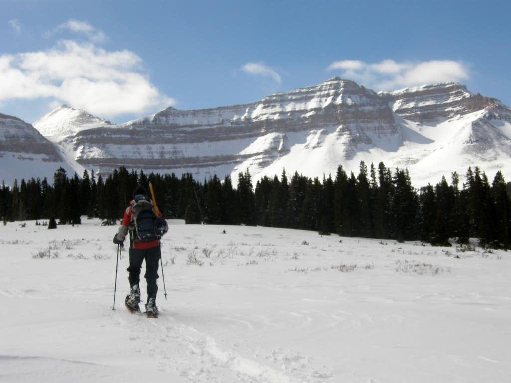 Kings Peak On Snowshoes