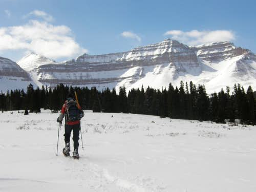 Kings Peak On Snowshoes