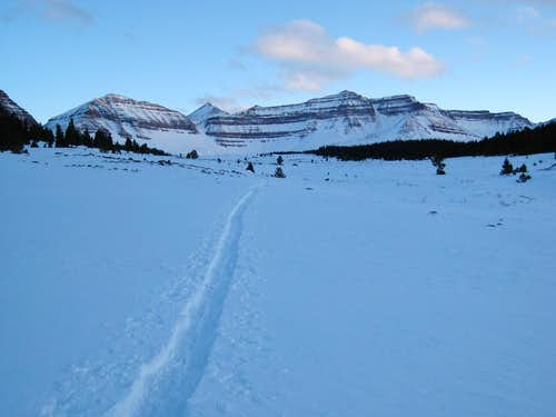 Kings Peak - On Snowshoes - In One Day