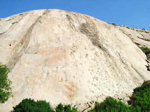 South side of Big Rock slab,...