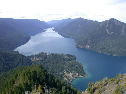 Lake Crescent from Storm King