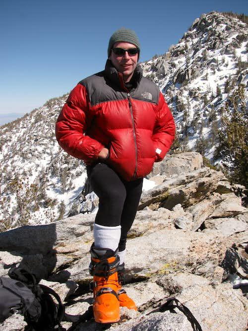 Folly Peak summit, San Jacinto in the back