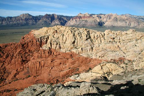 Calico Hills and the Big Red Rock Peaks