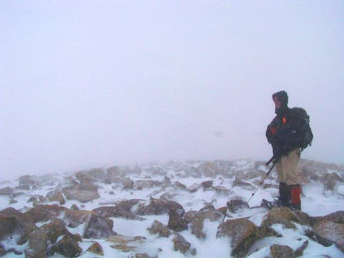 Easter Sunday, Saint Vrain Mountain Summit