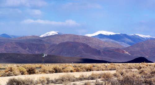 Bilk Creek Mountains Highpoint - 8485 feet