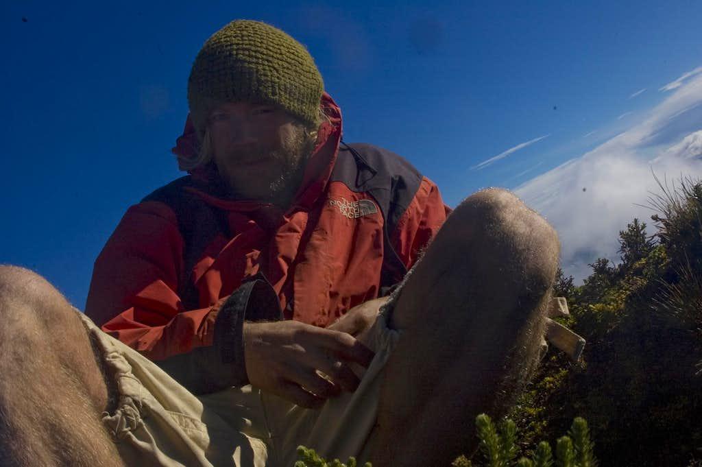 Cerro Negro summit