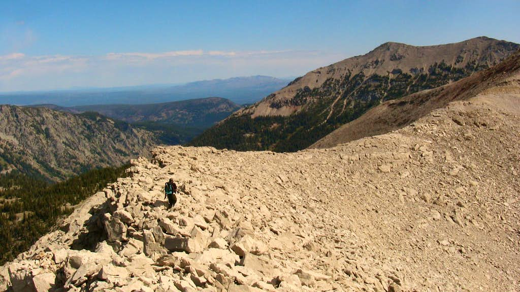 Moose Basin Divide to Elk Mountain