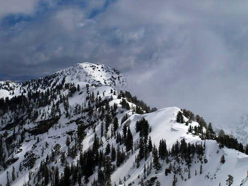 Honeycomb Cliffs from Flagstaff Mountain