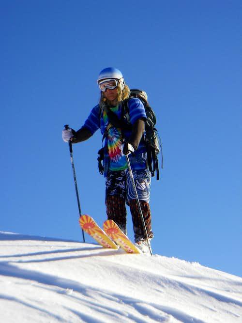 Skiing Silver Peak