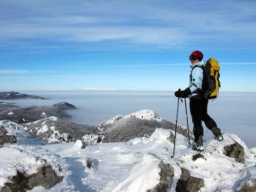 On Snježnik summit