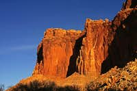 Navajo Sandstone Cliffs