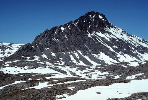 Mount Ericsson from the south